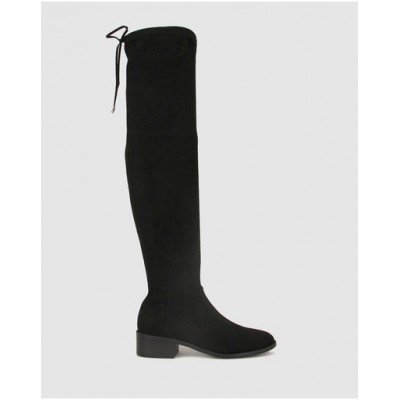 Betts Women's Daring Over-The-Knee Boots Black In Sale FCTCSKP