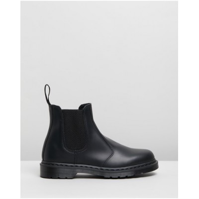 Dr Martens Women Unisex 2976 Mono Chelsea Boots Black Smooth guide TASEHQL