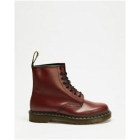 Dr Martens Womens Unisex 1460 Smooth 8-Eye Boots Cherry Smooth outlet KNHSAQQ