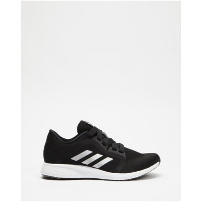 adidas Performance Womens Edge Lux 4 - Women's Running Shoes Core Black Cloud White & Grey Four lifestyle WVRNUDI