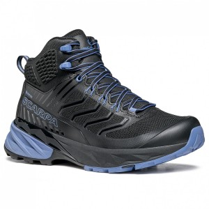 Scarpa Women's Rush Mid GTX - Walking boots Black \/ Provence Women - Outdoor shoes in new look LKKHCDP