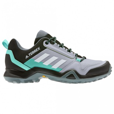 adidas Women's Terrex AX3 - Multisport shoes Halo Green / FTW White / Acid Mint Womne's - Outdoor shoes spring 2021 AFTQSVW