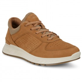 Ecco Women's Exostride Yak Leather - Sneakers Cashmere Womne's - Outdoor shoes online shopping RIDKBIQ