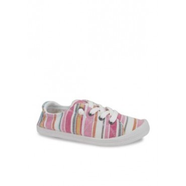 Jellypop Dallas Lace Up Sneakers Pink Multi Fabric - Women Performance Shoes - Designer on style BEEL479
