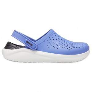 Crocs LiteRide Clog - Sandals Almost White \/ Almost White Womne's - Outdoor shoes New Arrival JXUQHHX