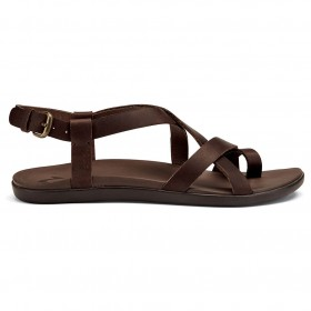 Olukai Women's Upena - Sandals Black \/ Black Womne's - Outdoor shoes Recommendations EUVKFFH