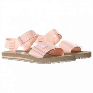 The North Face Women's Skeena Sandal - Sandals Agave Green \/ Vintage White Women - Outdoor shoes The Most Popular AAMYFHW