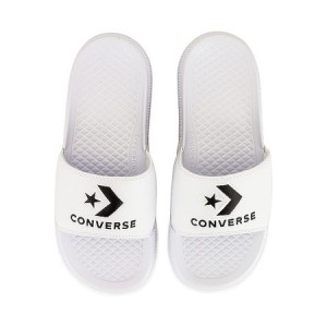 Women's Converse All Star Slide in . Black / White Leather size 11 spring 2021 QDVR6100
