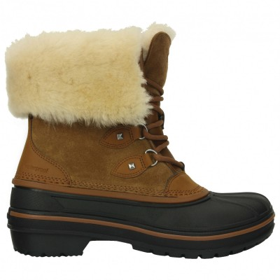 Crocs Women's AllCast II Luxe Boot - Winter boots Wheat Womne's - Outdoor shoes Lowest Price ATZIBZX