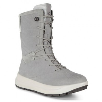 Ecco Women's Solice High Hydromax - Winter boots Wild Dove Women - Outdoor shoes Fashion UOOCVWR