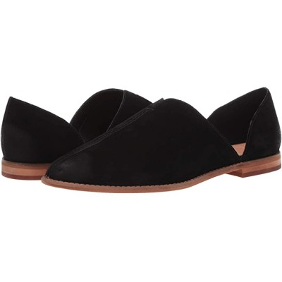 Woman's FRYE AND CO. Fenn D'Orsay Black Suede 9335013 VVLHS776