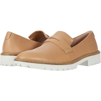 Women ECCO Incise Tailored Slip-On Latte Cow Leather 9345427 SPGNL520