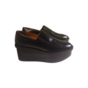 Womens & OTHER STORIES & Stories Leather mules & clogs Black Leather New Style XNAJ2199