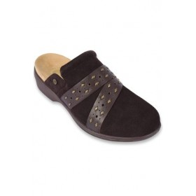 Young Women's REVITALIGN Women's Moro Orthotic Clog Brown size 3 IOHN8993