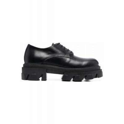 Women P.a.r.o.s.h. Chunky-sole brogues Black Leather New Style IWBS5646