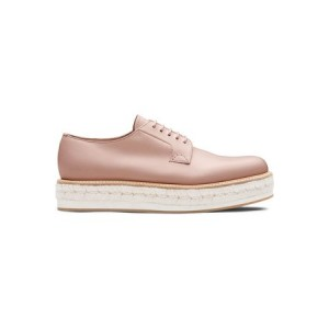 Womens Church's Shannon platform derby shoes Pink Leather quality ZPNT6168