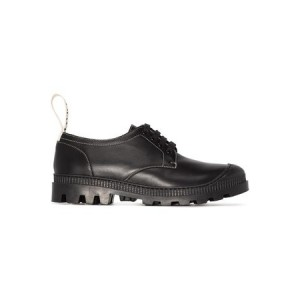 Women's Loewe Lace-up derby brogues Black Leather size 7.5 YGXL1479