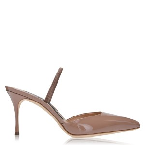 Women SERGIO ROSSI Godiva Sling Back Nude hot topic D97TY6532