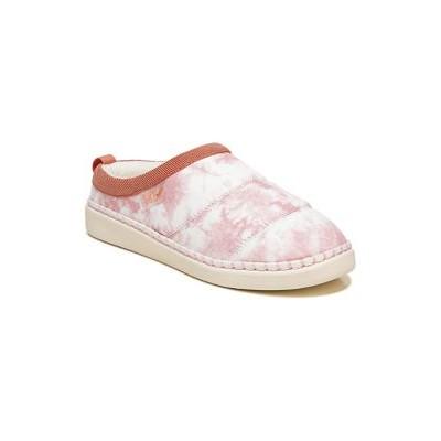 Dr. Scholl's® Cozy Vibes Slippers- Pink Tye Dye Pink - Women Slippers - Designer Discount ZCYF301