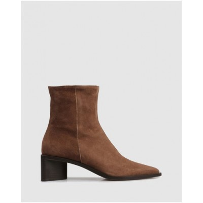 Beau Coops Women's Bolivar Ankle Boots 2709 Brown in new look TVGPZIW