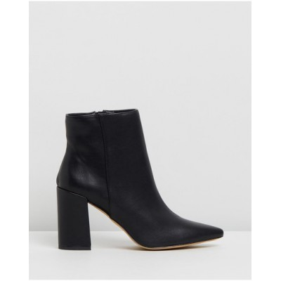 Dazie Women Irvine Ankle Boots Black Smooth Online Wholesale WDOXPRX