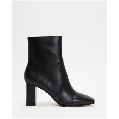 ALDO Women Theliven Heeled Ankle Boots Black spring 2021 DNTTLUW