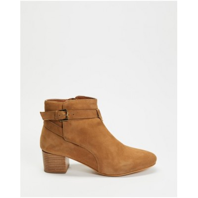 Atmos&Here Women's Sandra Leather Ankle Boots Sand Suede fashion guide TUJNMBX